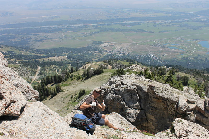Rock Climbing Photo: Terrible views out there