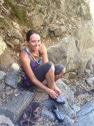 Rock Climbing Photo: :)