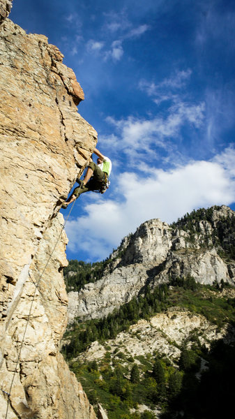 """At this point I was thinking, """"wow, that was steep!"""""""