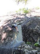 Rock Climbing Photo: Starting up Wham
