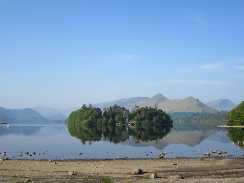 More of Derwentwater just outside of the town of Keswick ..English Lake District