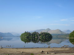 Rock Climbing Photo: More of Derwentwater just outside of the town of K...
