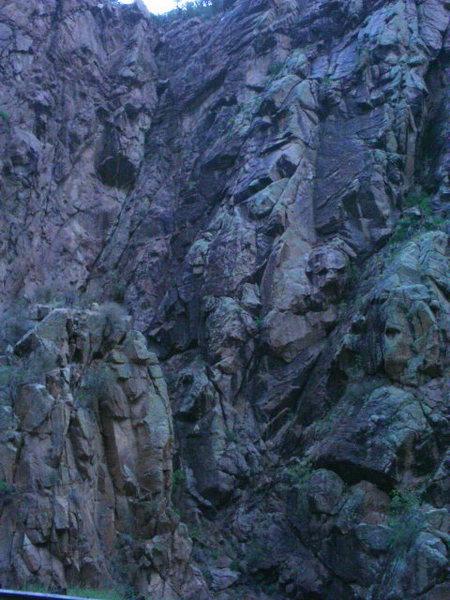Rock Climbing Photo: Falls Area