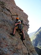 Rock Climbing Photo: Starting the climb