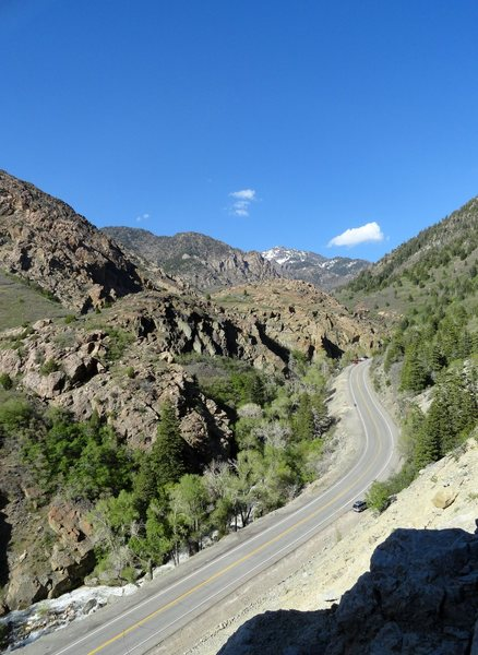 Rock Climbing Photo: Perfect day in Big Cottonwood