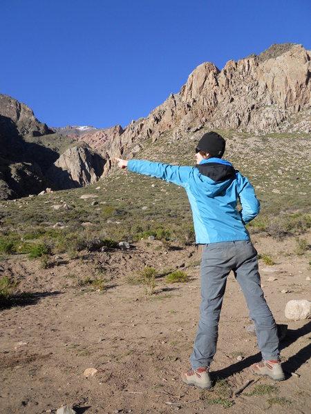 Rock Climbing Photo: La Tapia del Chorro from the road