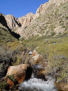 Rock Climbing Photo: Hiking up you will see the Tapia (Left side of the...