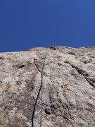 Rock Climbing Photo: Starting pitch 3