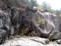 Rock Climbing Photo: Coral Cove, Right Side. Click for high-res version...