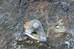 Rock Climbing Photo: First Bolt - Machismo