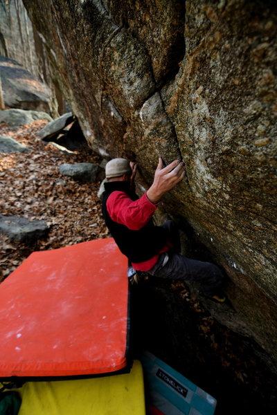 Rock Climbing Photo: Cptn. Sandbag