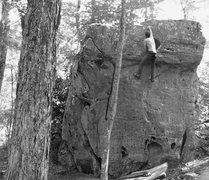 Rock Climbing Photo: Holy Moly