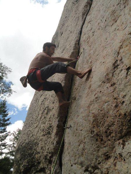 Rock Climbing Photo: hellzz yeah.