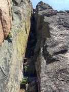 Rock Climbing Photo: fun chimney- p2