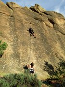 Rock Climbing Photo: A perfect evening of climbing.