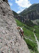 Rock Climbing Photo: Starting P3.