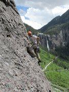 Rock Climbing Photo: Following P2.