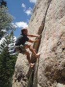 Rock Climbing Photo: Shoes optional