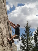 Rock Climbing Photo: This route is SWEET!