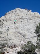 Rock Climbing Photo: Eric Peterson leads