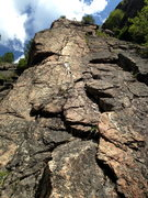 Rock Climbing Photo: White dyke