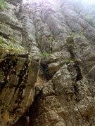 Rock Climbing Photo: Pitch 1- More fun than it looks like