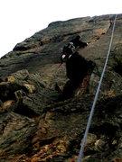 Rock Climbing Photo: Dave following