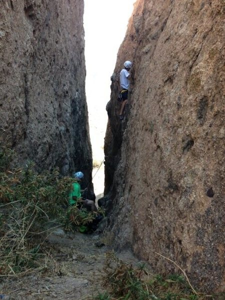 "Rock Climbing Photo: route directly across from ""Fat Bottom Girl&q..."