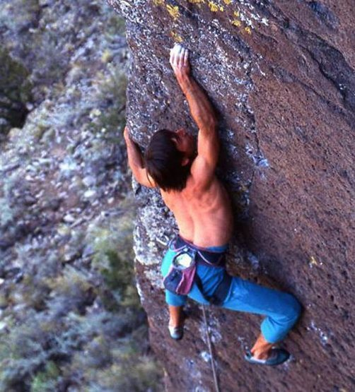 Rock Climbing Photo: Courtesy of Bob D'Antonio (the only guy who ever p...
