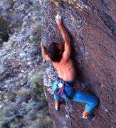 Rock Climbing Photo: Courtesy of Bob D'Antonio (the only guy who ever p...