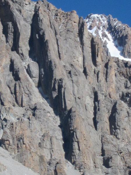 Rock Climbing Photo: Stacked Columns of Schwaba