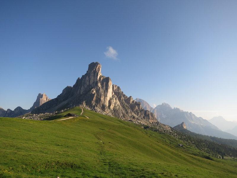 Monte Güsela from Paso di Giau