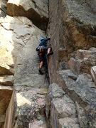 Rock Climbing Photo: P Dawg sending!