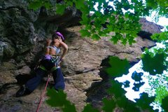Rock Climbing Photo: Near the chimney