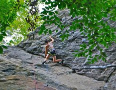 Rock Climbing Photo: Burly moves