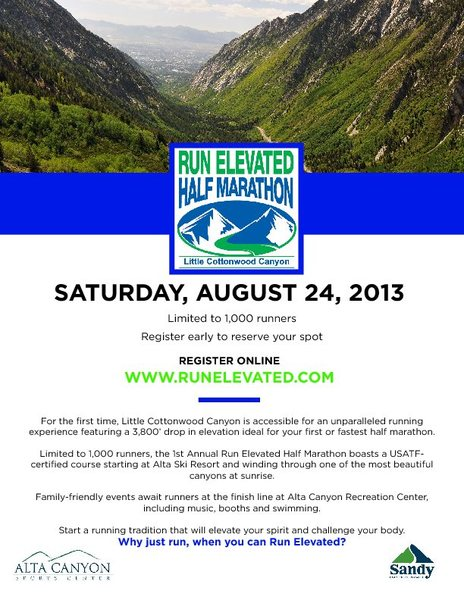 Run Elevated Flyer