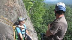 Rock Climbing Photo: chillin