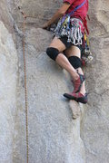 Rock Climbing Photo: Fearless footwork on TTT