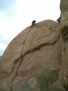 Rock Climbing Photo: Jack B humpty dumpty lead