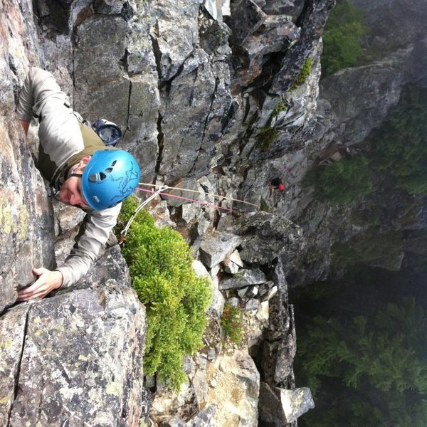 Rock Climbing Photo: On The Tooth in WA