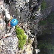 Rock Climbing Photo: On The Tooth in WA