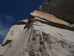 Rock Climbing Photo: Relentless and cryptic sunspot arete (12d).