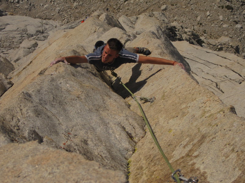 Double arete glory on pitch 9 (12a).