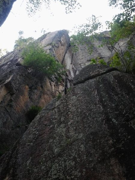 Rock Climbing Photo: I was told by IME staff that this was recently cle...