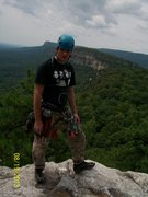 Rock Climbing Photo: atop the gunks