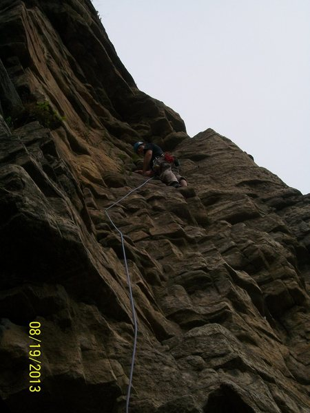 Rock Climbing Photo: three pines
