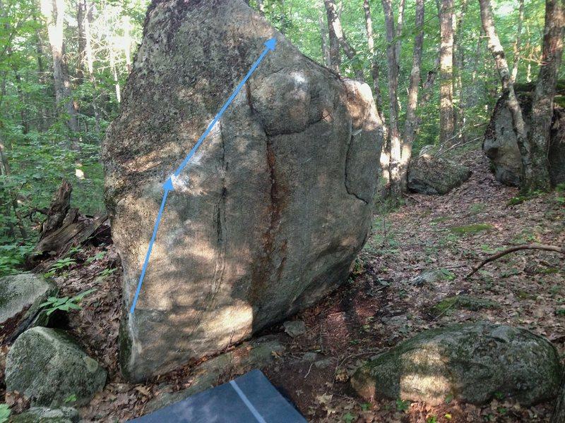 Rock Climbing Photo: 'El Scorcho'