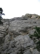 Rock Climbing Photo: The right-hand side of the central slab.