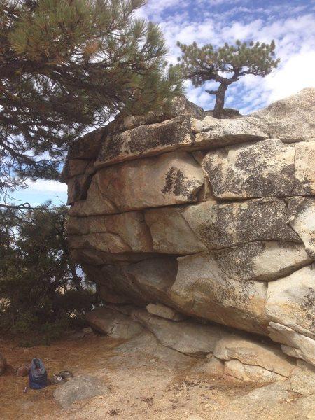 the ridge boulder