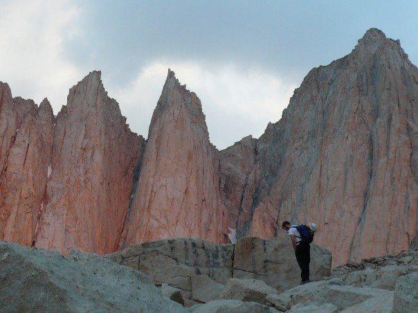 Rock Climbing Photo: alpen gllow on Keeler and Whitney